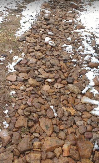 Permeable Rock Paths